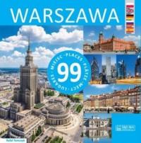 Warszawa 99 miejsc - okładka książki