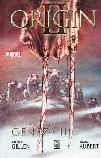 Wolverine. Geneza II - okładka książki