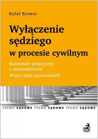 Wyłączenie sędziego w procesie - okładka książki