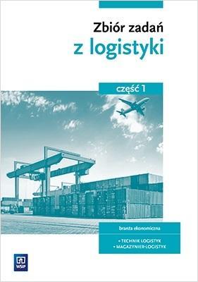 Zbiór zadań z logistyki cz.1  - okładka podręcznika