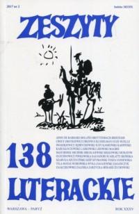 Zeszyty literackie 138/2/2017 - okładka książki