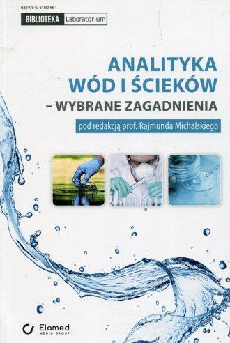 Analityka wód i ścieków - wybrane - okładka książki