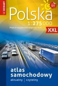 Atlas samochodowy Polska 1:275 000 - okładka książki