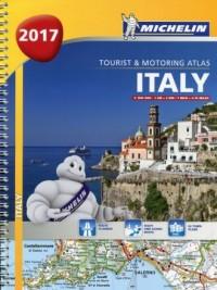 Atlas Włochy 1:300 000 - okładka książki