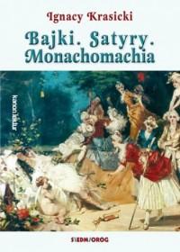 Bajki. Satyry. Monachomachia - okładka podręcznika