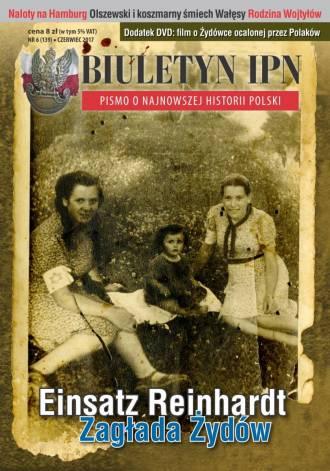 Biuletyn IPN nr 6 (139) / 2017 - okładka książki
