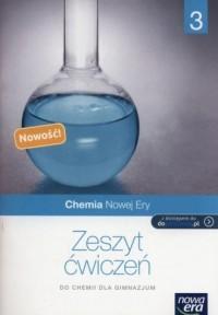 Chemia Nowej Ery 3. Gimnazjum. Zeszyt ćwiczeń - okładka podręcznika