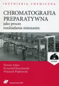 Chromatografia preparatywna jako - okładka książki