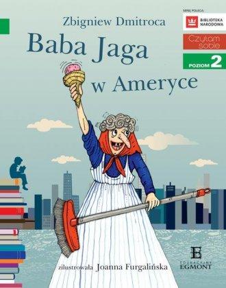 Czytam sobie. Baba Jaga w Ameryce - okładka książki