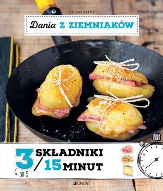 Dania z ziemniaków 3 składniki - okładka książki
