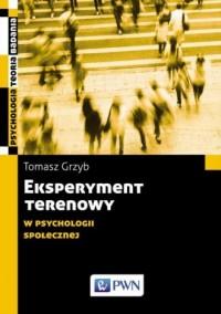 Eksperyment terenowy w psychologii - okładka książki