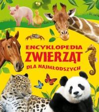Encyklopedia zwierząt dla najmłodszych - okładka książki