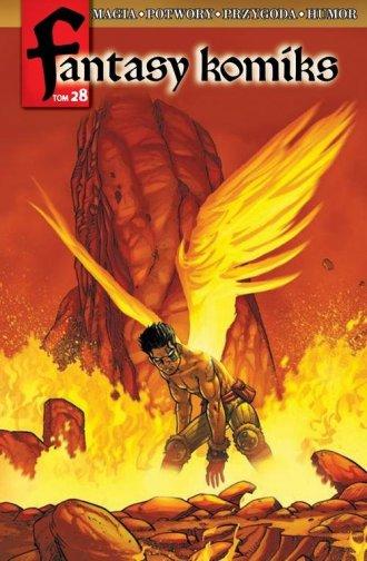 Fantasy Komiks. Tom 28 - okładka książki