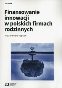 Finansowanie innowacji w polskich - okładka książki