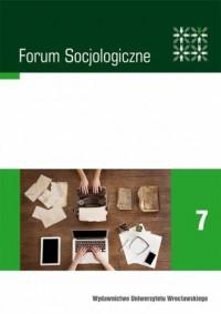 Forum Socjologiczne 7. Dokumenty - okładka książki