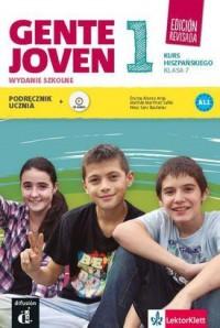 Gente Joven 1. Szkoła podstawowa. Język hiszpański 7. Podręcznik z płytą CD - okładka podręcznika