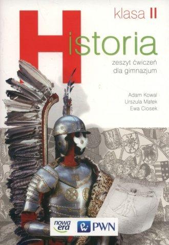 Historia 2. Gimnazjum. Zeszyt ćwiczeń - okładka podręcznika