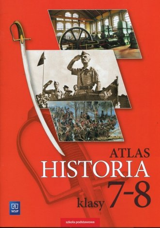 Historia. Atlas 7-8. Szkoła podstawowa - okładka podręcznika