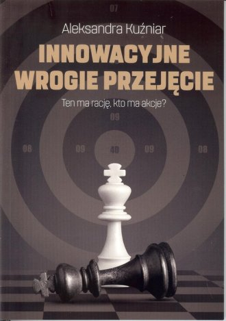 Innowacyjne wrogie przejęcie. - okładka książki