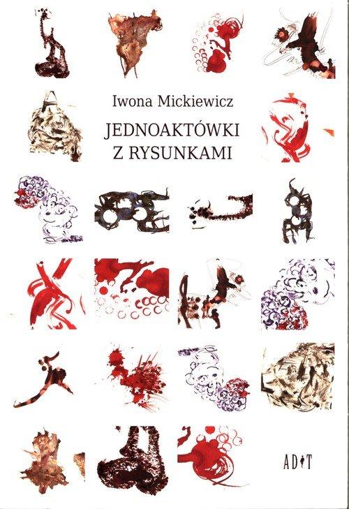 Jednoaktówki z rysunkami - okładka książki