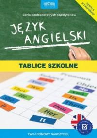 Język angielski. Tablice szkolne - okładka książki