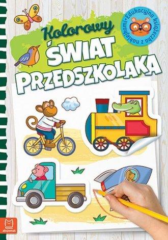 Kolorowy świat przedszkolaka - okładka książki
