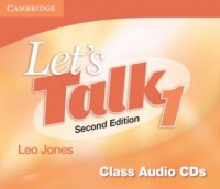 Lets Talk Level 1 Class Audio 3 CD - pudełko audiobooku