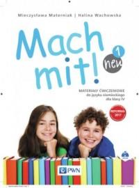 Mach mit! neu 1. Klasa 4. Szkoła podstawowa. Materiały ćwiczeniowe - okładka książki