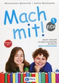 Mach mit! neu 1. Szkoła podstawowa. Zeszyt ćwiczeń 4. Wersja rozszerzona - okładka książki