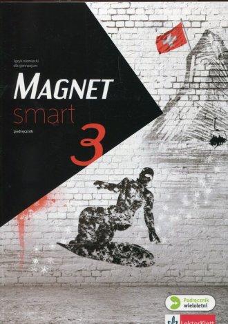 Magnet Smart 3. Gimnazjum. Podręcznik - okładka podręcznika