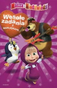 Masza i Niedźwiedź. Wesołe zadania - okładka książki