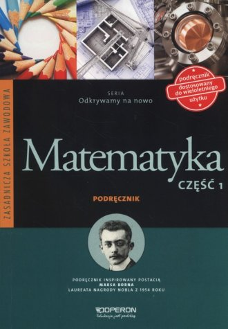Matematyka. Zasadnicza Szkoła Zawodowa. - okładka podręcznika