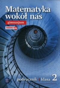 Matematyka wokół nas 2. Gimnazjum. Podręcznik - okładka podręcznika