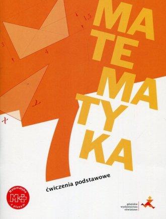 Matematyka z plusem 7. Szkoła podstawowa. - okładka podręcznika