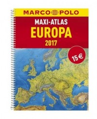 Maxi-Atlas. Europa 2017 - okładka książki