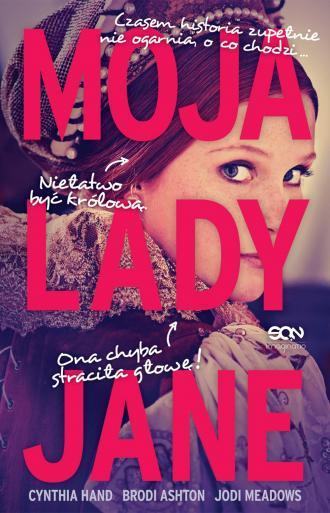 Moja lady Jane - okładka książki