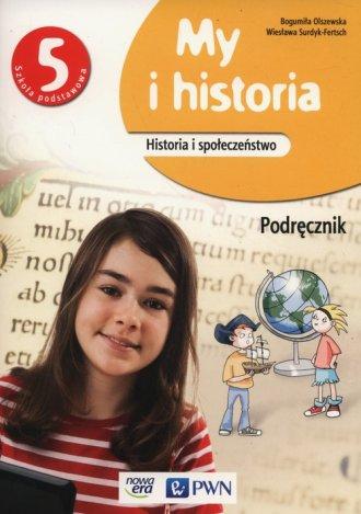 My i historia 5. Szkoła podstawowa. - okładka podręcznika