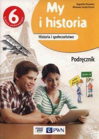 My i historia 6. Szkoła podstawowa. - okładka podręcznika
