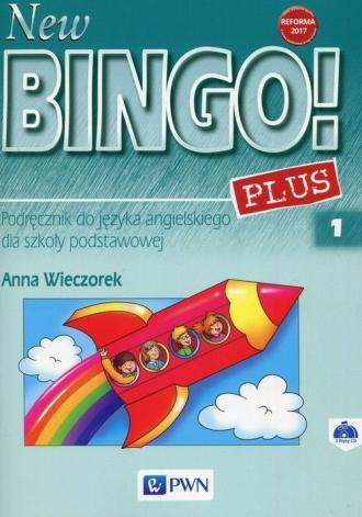 New Bingo! 1 Plus. Szkoła podstawowa - okładka podręcznika