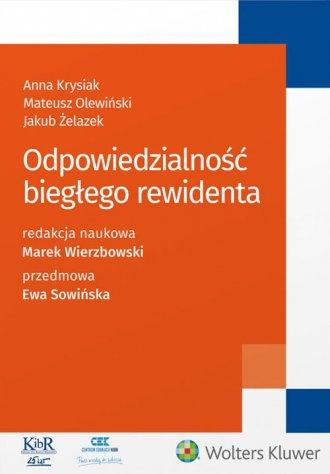 Odpowiedzialność biegłego rewidenta - okładka książki