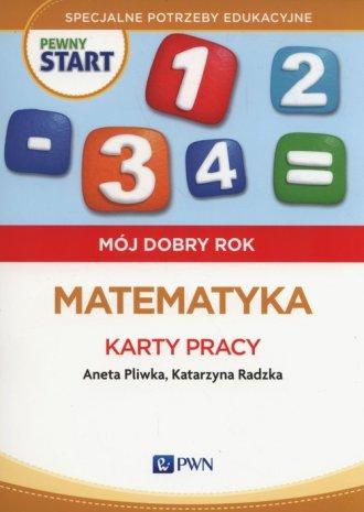 Pewny start. Mój dobry rok. Matematyka. - okładka podręcznika