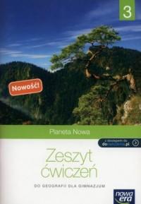 Planeta Nowa 3. Gimnazjum. Zeszyt ćwiczeń - okładka podręcznika