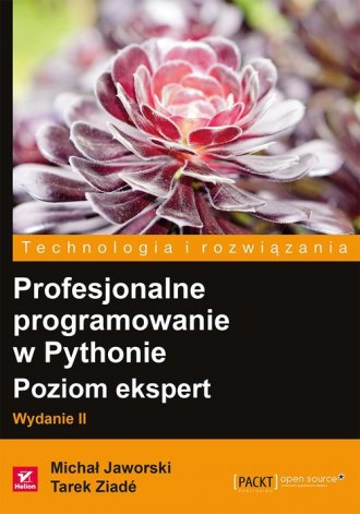 Profesjonalne programowanie w Pythonie - okładka książki