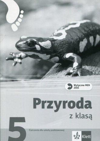 Przyroda z klasą 5. Szkoła podstawowa. - okładka podręcznika
