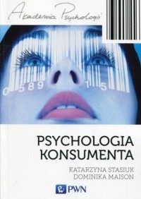 Psychologia konsumenta - Katarzyna - okładka książki