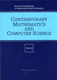 Recent Developments in Mathematics - okładka książki