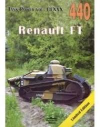 Renault FT 440 - Wydawnictwo - okładka książki