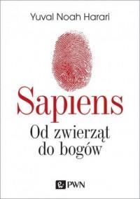 Sapiens. Od zwierząt do bogów - okładka książki