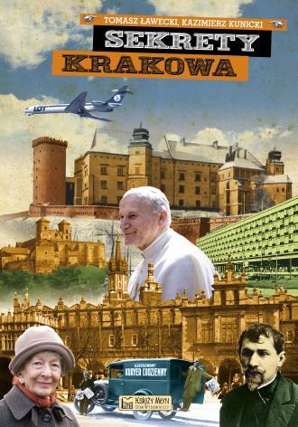 Sekrety Krakowa - okładka książki
