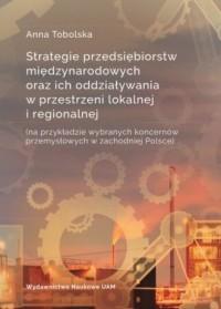 Strategie przedsiębiorstw międzynarodowych - okładka książki